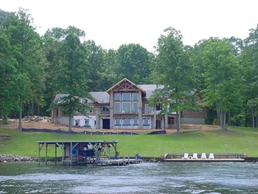 Pin by davina king on beautiful homes pinterest House plans with walkout basements on lake