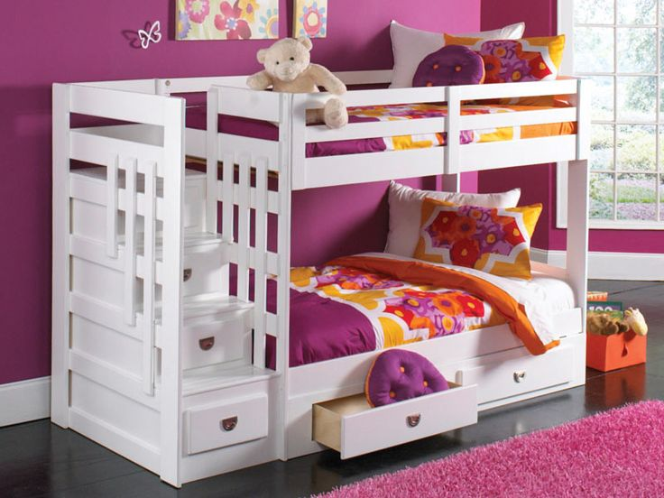 17 Best images about Youth Bedrooms on Pinterest : Bunk beds for adults, Naples and Staircase ...