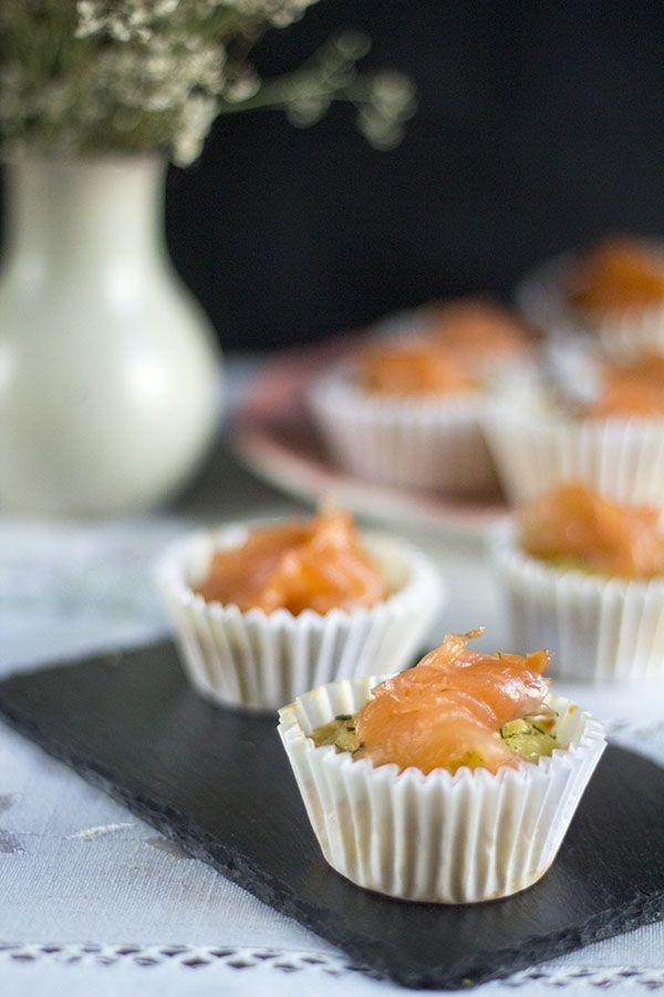 Cómo preparar magdalenas de tortilla de patatas con salmón con Thermomix. « Trucos de cocina Thermomix