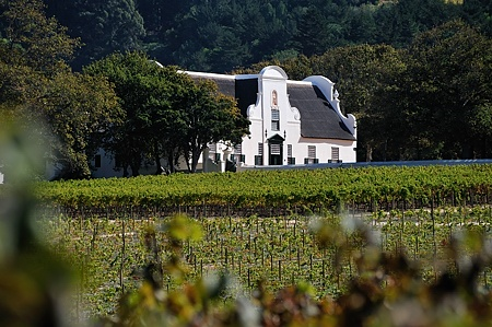 Groot Constantia Wine Estate, Cape Town: Magnus Pretorius serves wines from this famous vineyard in the book.