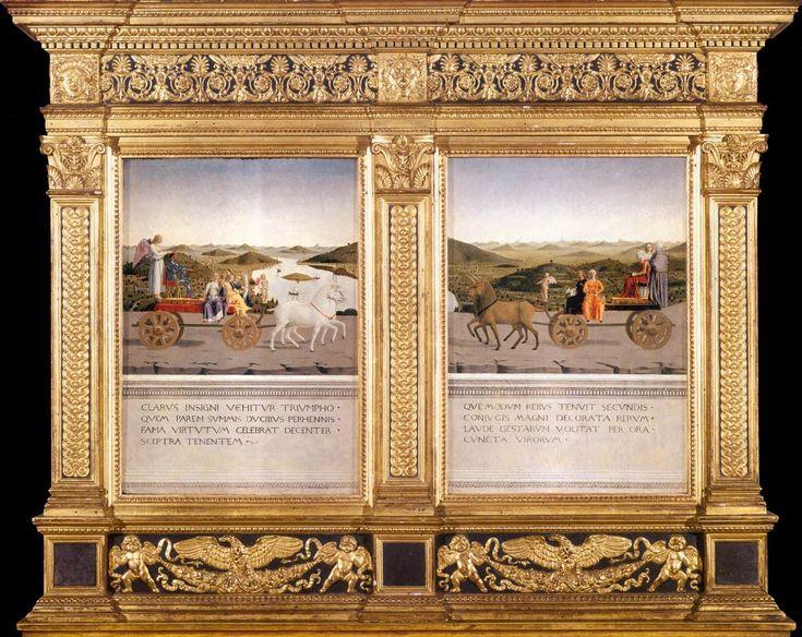 Piero della Francesca's striking Diptych of Federico da Montefeltro and Battista…