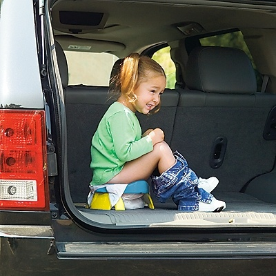 no nasty gas station stops for the kids... 2 in 1 Portable Potty & Trainer Seat - One Step Ahead Baby