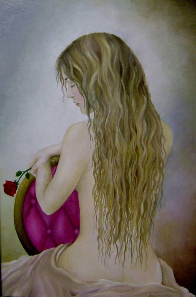 Catharsis,  oil on canvas by Landi-Michelle van den Berg