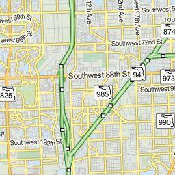 mapa de miami por zip code » Full HD MAPS Locations - Another World ...
