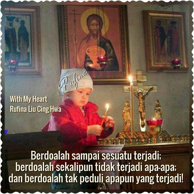 "With My Heart ✨🌙... :: (\_(\ *: (=' :') :* •.. (,("")("")¤°´¯`» •ღღ• Good Night •ღღ• ~  1 Tesalonika 5:17 (TB)  Tetaplah berdoa."