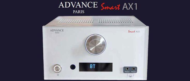 Issu de la série SmartLine, l'ampli Advance AX1 développe 2x65 Watts sous 4 Ohms. Il adopte un châssis compact et des composants audiophiles. Sa connectique est très complète, avec 6 entrées RCA (dont Phono), des entrées numériques (Optique + Coaxial), des prises XLR, et bien plus encore… | #Ampli #HiFi #Advance #AX1