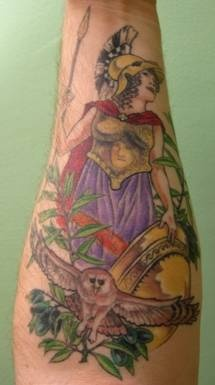 My Athena Tattoo