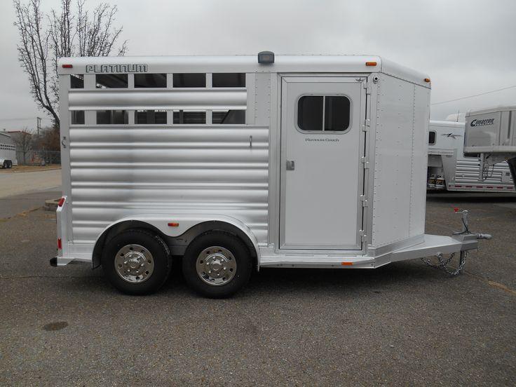 Platinum Coach Horse Trailer. Horse trailers, Trailer