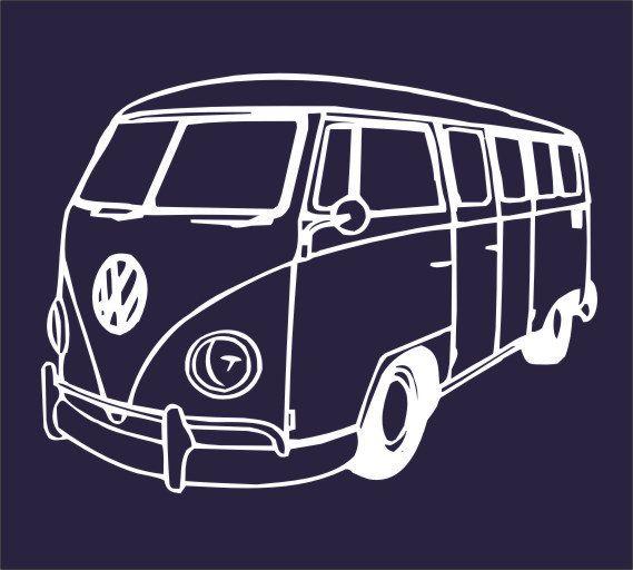 dessin bus vw vieilles carrosseries pinterest buses. Black Bedroom Furniture Sets. Home Design Ideas