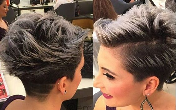 Een super-edgy trend deze winter is de granny trend. En hierbij hoort natuurlijk ook een grijze haarkleur! Het klinkt wel een beetje vreemd om je mooie haar grijs te verven, maar het kan echt geweldig staan. Kijk maar eens naar de onderstaande 12 ...