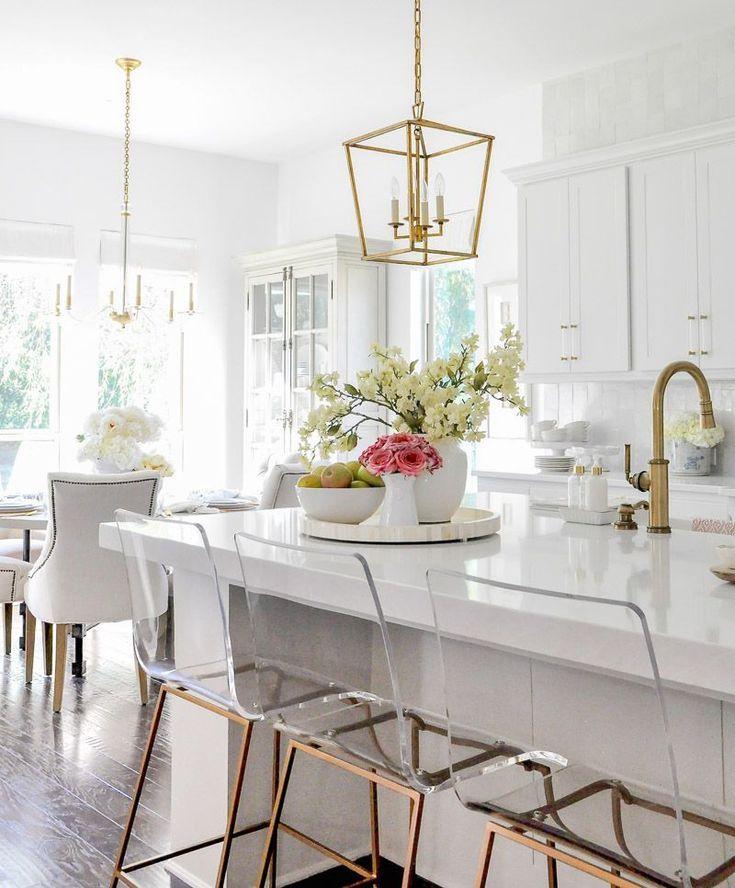 Our Bright Inviting Kitchen Reveal Decor Gold Designs Kitchen Counter Decor Minimalist Kitchen Countertop Decor