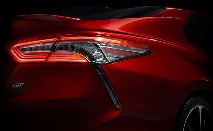New Toyota Camry Teased Prior to its Official Debut at 2017 Detroit Motor Show