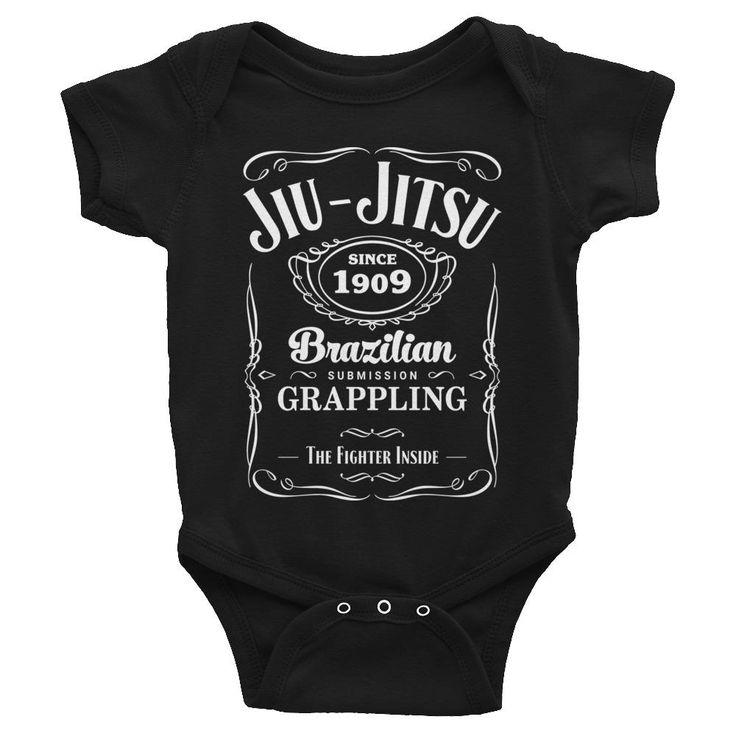 Jiu Jitsu Submission Grappling Infant Bodysuit