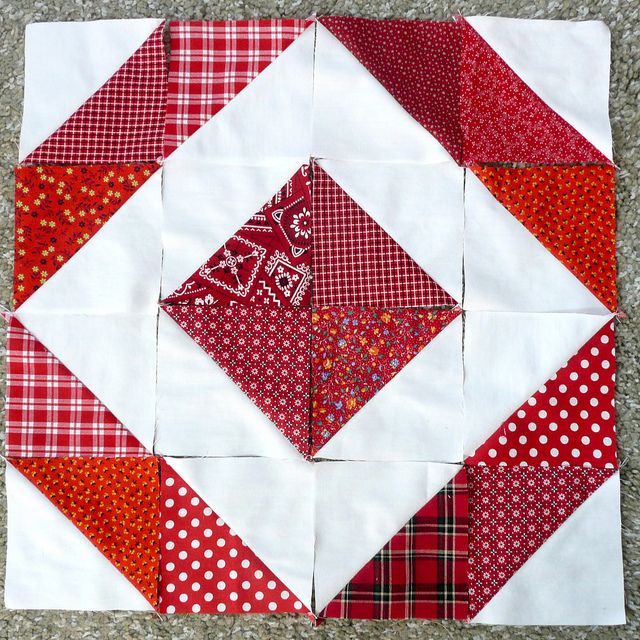 Half Square Triangle Quilt Blocks