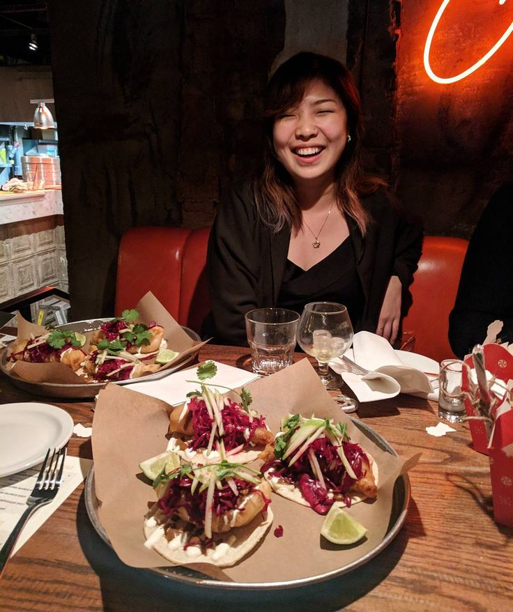 In Cod We Trust. Went for tacos with @phone.eats.first tonight and she ate everybody's fish tacos because she was really hungry. Nomz. At @la_carnita.
