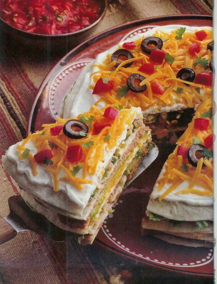 Taco Pie! Thats mine kind taco