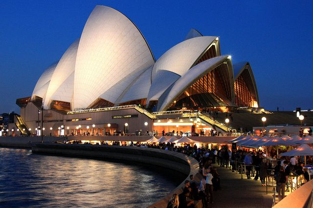 Sydney Opera House often cited as an extravagant piece of modern architecture, it has drawn immense admiration from people world over. In it's short life time it has acquired a reputation as a world class performing arts center and become Australia's most widely recognizable building, enhanced by it's location on Bennelong Point, with a superb harbor setting. http://www.guiddoo.com/