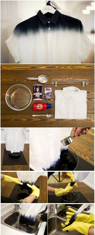 Customiza tu ropa con este facil tip. #reciclar #DIY