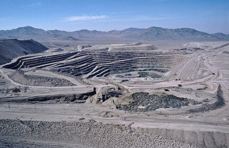 Chuquicamata, a Chilean copper mine.