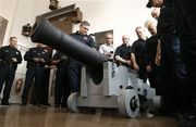 A standard training exercise for the Detroit Police Department Dive Team quickly became historic. 200 year old British Cannon from Revolutionary War found in Detroit River restored.