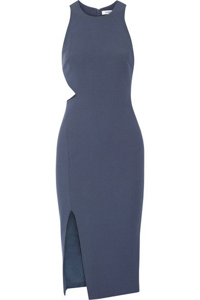 Elizabeth and James | Giulia cutout stretch-ponte dress | NET-A-PORTER.COM