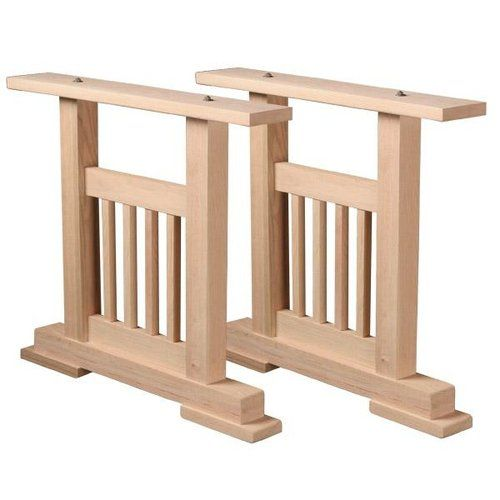 Mission Trestle Table Plans: Mission Dining Table Pedestal Kit