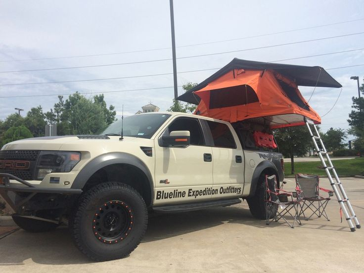 Image result for raptor roof top tent Ford raptor, Roof