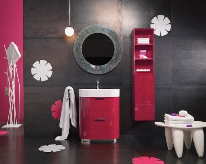 7-luxury-bathroom-ideas-for-2016-glossy-pink-athroom-cabinet-vanity-combined-double-drawers-and-white-sink-under-round-wall-mirror-as-well 7-luxury-bathroom-ideas-for-2016-glossy-pink-athroom-cabinet-vanity-combined-double-drawers-and-white-sink-under-round-wall-mirror-as-well