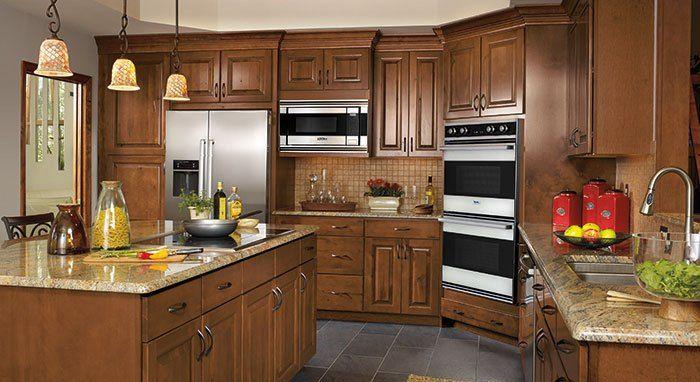 Modern birch kitchen cabinets kitchen makeover adds for Birch kitchen cabinets