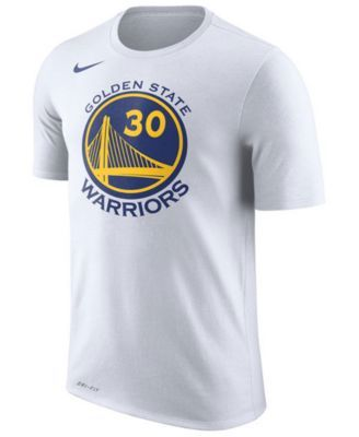 Nike Men's Stephen Curry Golden State Warriors Name & Number Player T-Shirt - White XXL