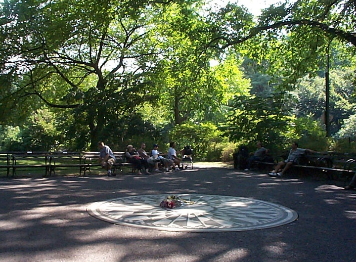 Strawberry Fields, Central Park