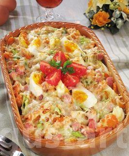 Lajos Mari konyhája - Zöldséges-tojásos rakott krumpli