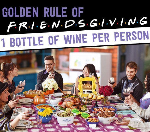 Friends Thanksgiving, Friends