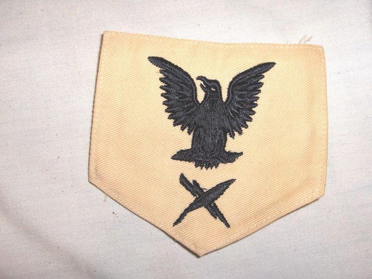 U s Navy Rate Badge Shoulder Patch Cryptologic Technician WWII | eBay