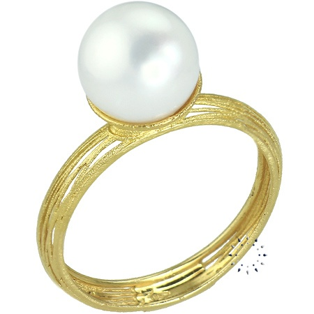 Δαχτυλίδι 14K Χρυσό με Μαργαριτάρι της FaCaDoro 225€  http://www.kosmima.gr/index.php?manufacturers_id=10