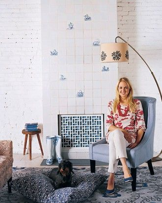 """Rebecca Robertson style - See the """"Sitting Pretty"""" in our Home Tour: Manhattan Loft gallery"""