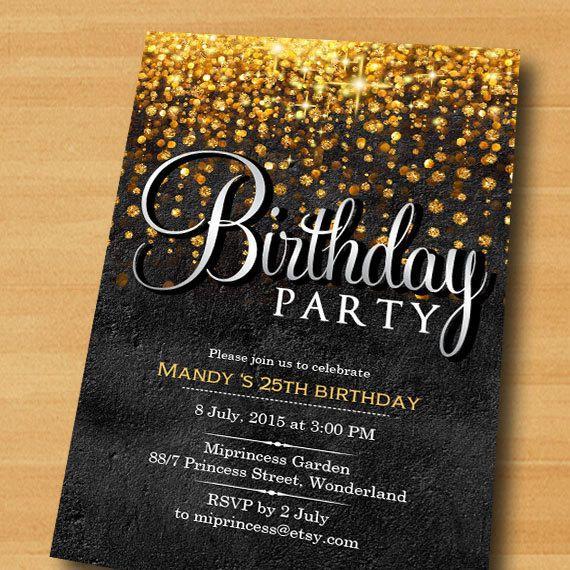 Elegant Birthday Invitations Elegant Birthday Invitations Elegant Birthday Elegant Birthday Invitation Design