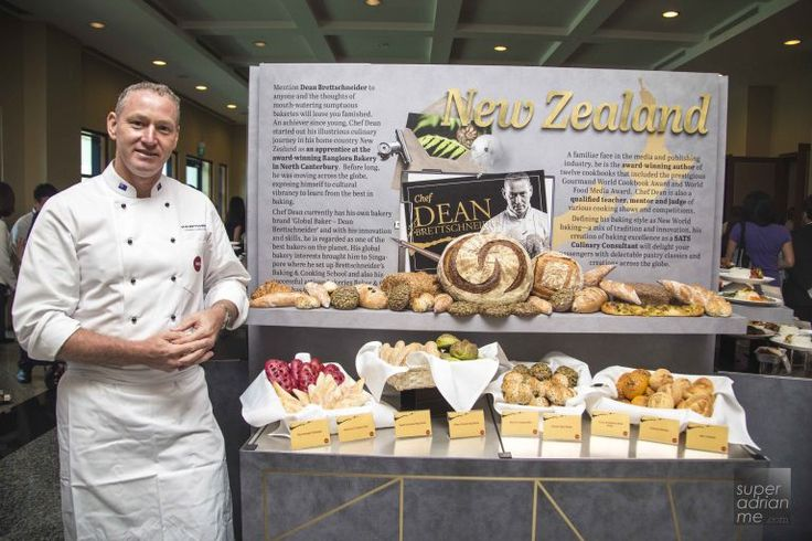 SATS Culinary Consultant - Chef Dean Brettschneider of New Zealand