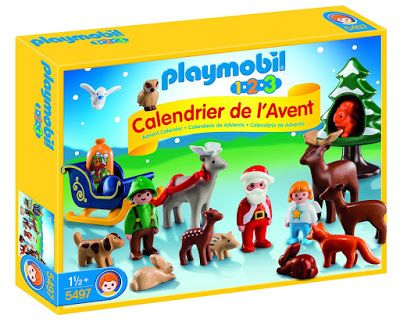 Le calendrier de l'avent Playmobil 123