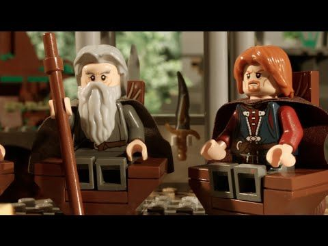 LEGO Walk into Mordor - YouTube