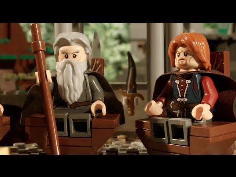 LEGO Walk into Mordor - YouTube