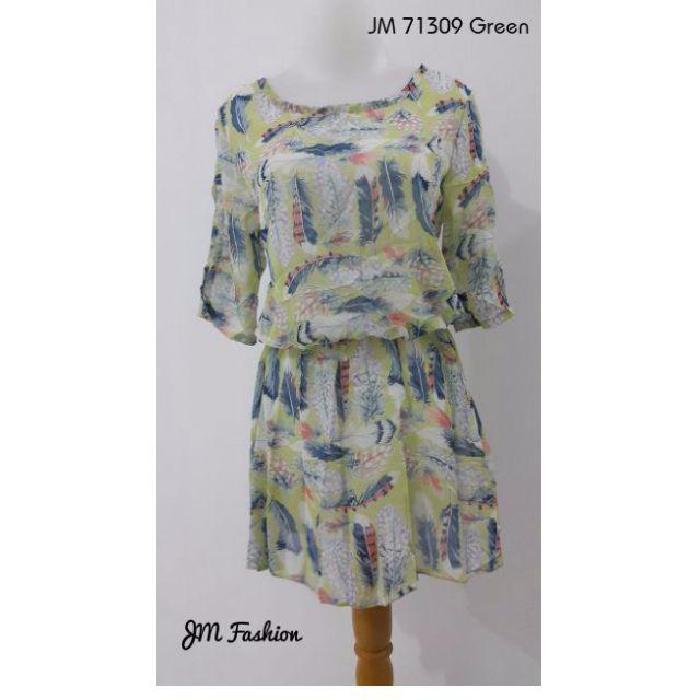 Retro Tread Silk Dress