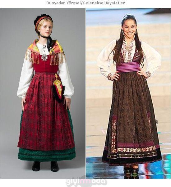 Norveç Geleneksel Kıyafetleri