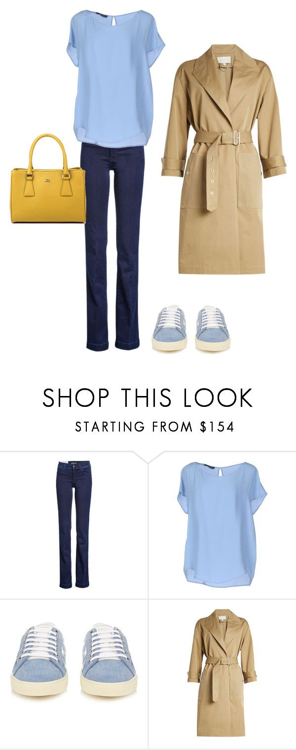 3 by asvetik on Polyvore featuring мода, Les Copains, Vanessa Bruno, 7 For All Mankind, Yves Saint Laurent and J&C JackyCeline