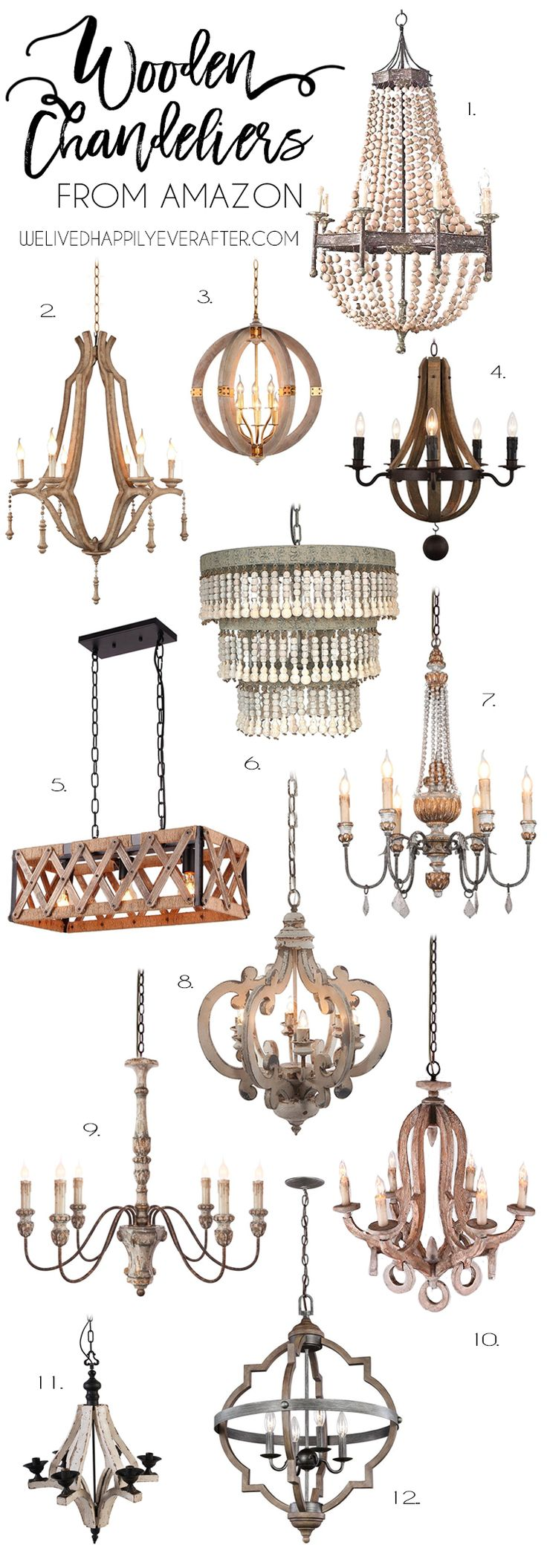 Wooden Farmhouse Chandeliers For Your Home