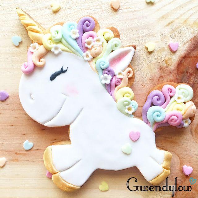 Galletas de Unicornios Arcoiris - Ñam, Ñam!!!