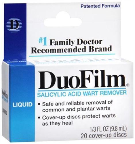 DuoFilm Wart Remover Liquid 0 33 oz #DuoFilm   Home   Warts
