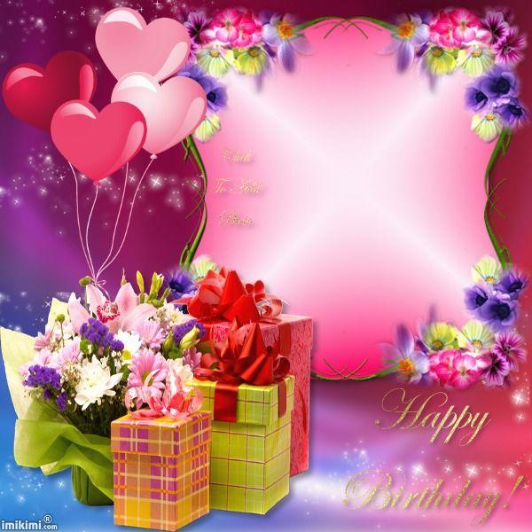 Happy Birthday Birthday Frames Happy Birthday Frame Birthday Wishes