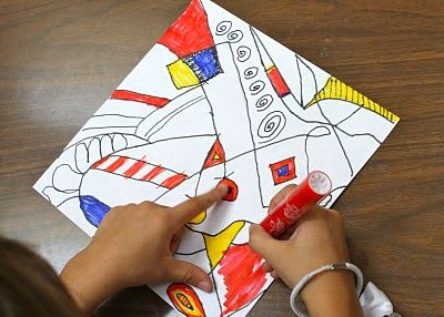 Dubuffet Drawings: Primary Colors, Dubuffet Drawings, Colors Projects, Dali Moustache, Whiskers