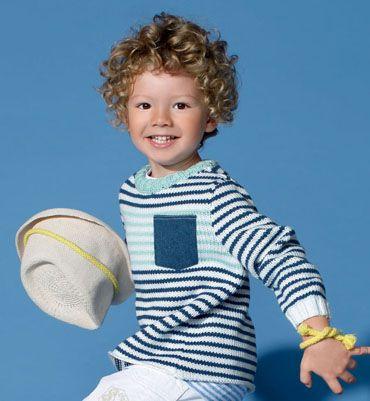 Modèle marinière à poche enfant
